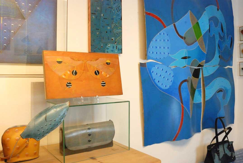 eine Ansicht meines Ateliers | Erlebnis Kunst in Südtirol