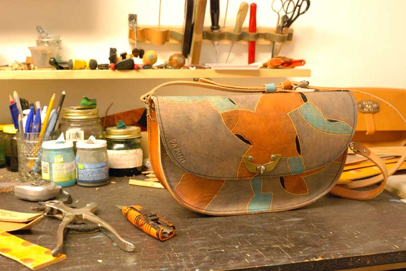 Neues aus der Werkstatt ledertasche samba markus damini